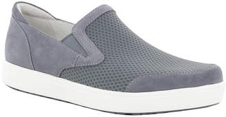 Alegria Men's Sandals GREY - Gray Suede Bender Slip-On Sneaker - Men