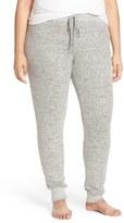 Make + Model Plus Size Women's Brushed Hacci Lounge Pants