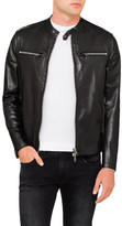 Lab by Pal Zileri Leather Biker Jacket