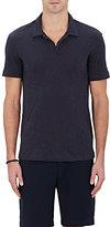 Theory Men's Cotton Slub Jersey Polo Shirt