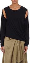 MM6 MAISON MARGIELA Women's Cutout-Sleeve Jersey Top