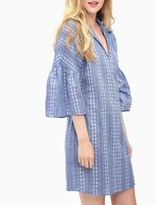 Splendid Chambray Dolman Tunic Dress