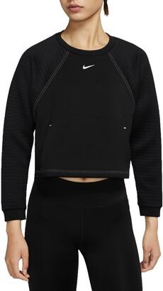 Nike Pro Fleece Crewneck Pullover
