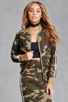 Forever 21 FOREVER 21+ Camo Print Track Jacket