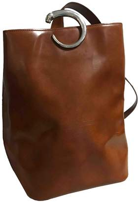 Cartier Panthere Brown Patent leather Handbags