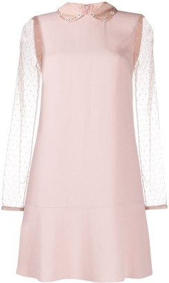 RED Valentino Peter Pan collar dress