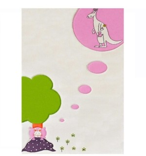 "IVI Dream Soft Nursery Rug with a Playful Design - 59""L x 39""W Playmat"