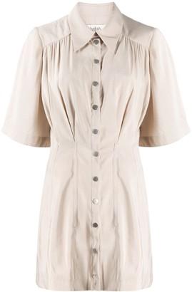 BA&SH Cara mini shirt dress