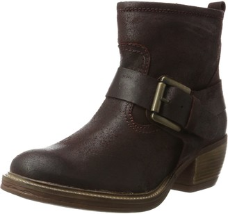 Josef Seibel Women Cowboy Boots Red Size: 5 UK (38 EU)