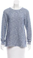 Tibi Knit Long Sleeve Top