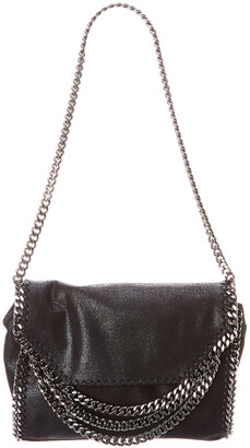 Stella McCartney Falabella Multi-Chain Fold Over Shoulder Bag