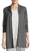 Eileen Fisher Tencel® Stretch-Terry Jacket, Plus Size