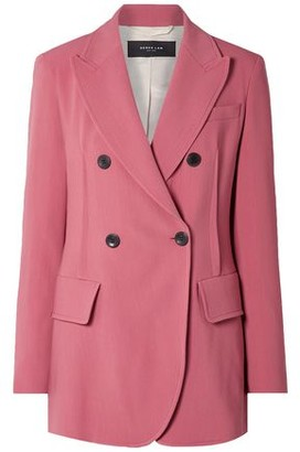 Derek Lam Oversized Double-breasted Stretch-crepe Blazer