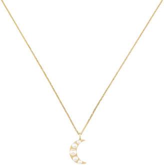 Ariel Gordon Lido Moon Pendant Necklace