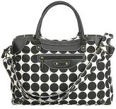 J L Childress RYCO Sienna Diaper Bag - Black Dots