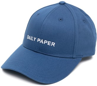 Daily Paper Logo Embroidered Cap