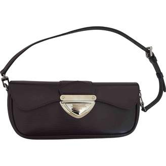 Louis Vuitton Purple Leather Clutch bags