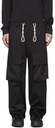 Y-3 Black Gabardine Cargo Pants