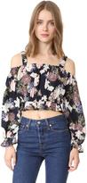 Nicholas N Thistle Floral Long Sleeve Rosie Top