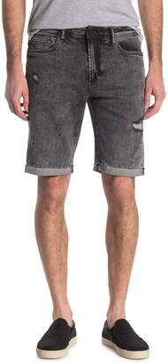 Blanknyc Denim Wooster Distressed Denim Shorts