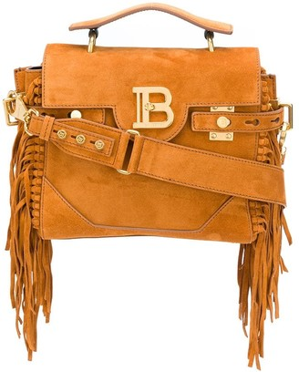 Balmain Fringed Two-Way Bag