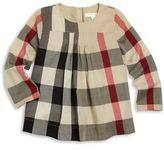 Burberry Baby's & Toddler Girl's Lucie Check Cotton Blouse
