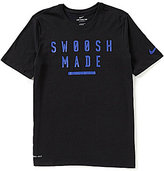 Nike Dry Swoosh Made Training Short-Sleeve Crewneck Tee