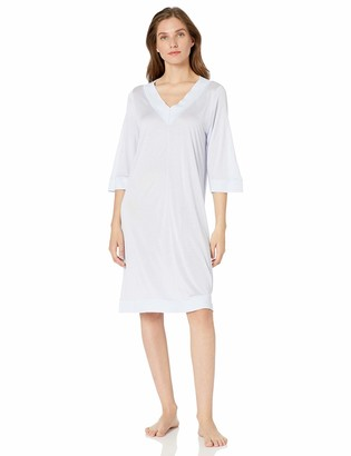 Hanro Women's Hella 3/4 Sleeve Gown