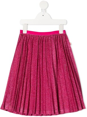 Billieblush Glitter Pleated Skirt