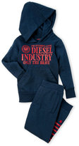 Diesel Boys 4-7) Only the Brave Hoodie & Pant Set
