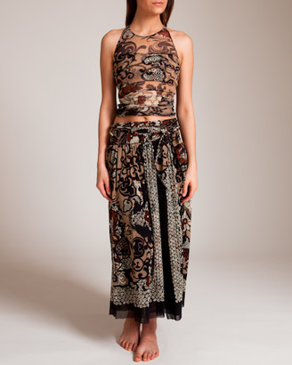 Fuzzi Dragonessa Wrap Skirt
