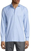 Robert Graham Puliti Long-Sleeve Woven Shirt, Blue