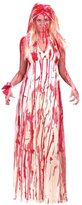Fun World Costumes Women's Bloody Prom Dress Costume (Med/Large 8-14)