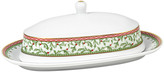 Mikasa Holiday Traditions Covered Butter Dish