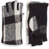 Echo Women's Plaid Fingerless Gloves