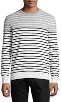 Black Brown 1826 Colourblock Striped Sweater