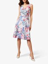 Phase Eight Robbie Floral Dress, Lavender/Multi