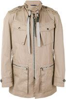 Lanvin field jacket - men - Cotton/Polyester/Viscose - 52