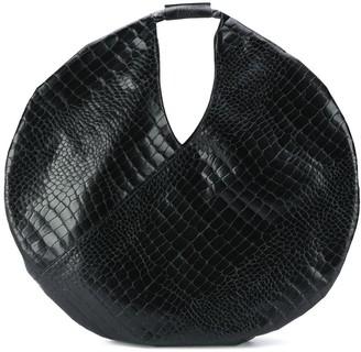 MM6 MAISON MARGIELA Croc-Embossed Tote Bag