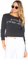 Mother The Matchbox Sweatshirt in Black. - size M (also in S,XS)