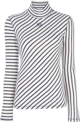 Loewe diagonal stripe T-shirt