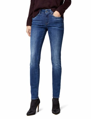 G Star Women's 3301 High Skinny Jeans in Yzzi Stretch Denim