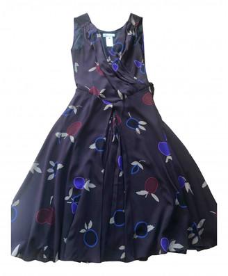 Celine Brown Silk Dresses