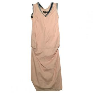 Alexander McQueen Pink Cotton Dresses