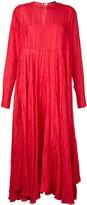 Joseph flared midi dress - women - Silk - 38