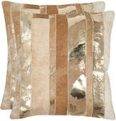 Safavieh Set Of 2 Peyton Pillows