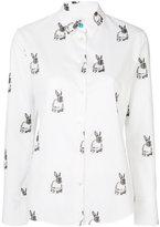Paul Smith Rabbit shirt - women - Cotton - 40