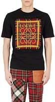 Loewe Men's Logo-Patch Cotton T-Shirt