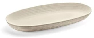 Guzzini Recycled Plastic Serving Tray Tierra in Clay