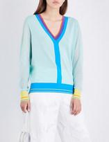 Diane von Furstenberg V-neck knitted jumper